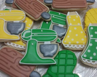 Baking/Cooking Theme Cookies (available in all colors)