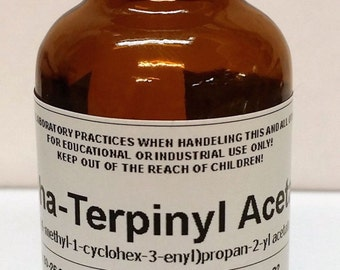 Terpinyl Acetate High Purity Aroma Compound, 30ml, 120ml