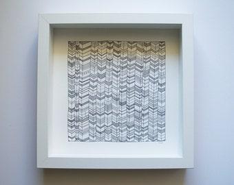 Zigzag (original ink drawing)
