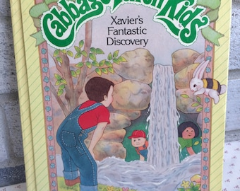 Cabbage Patch Kids book, Xavier's Fantastic Discovery, CPK storybook