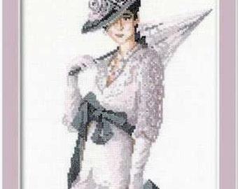 Riolis Cross Stitch kit  -Miss Elegance