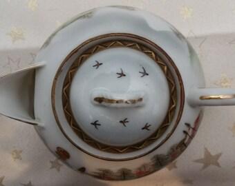 Japanese Eggshell Porcelain Teapot