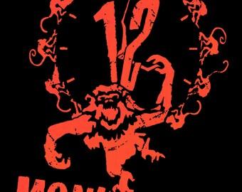 12 Monkeys Movie POSTER (1995) Thriller/Tech noir