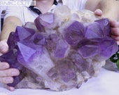 Huge Bolivian Amethyst Geode Super Extra Quality From Brazil Reiki 28 lbs
