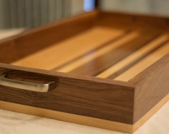 Wooden Tray with Handles – Great Coffee Table Tray