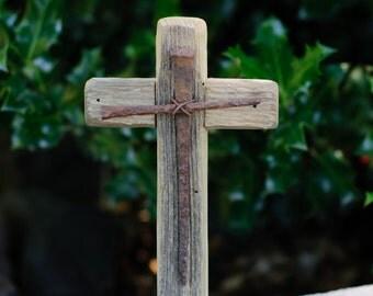 Rustic Wooden Cross