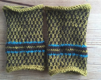 Handknitted armwarmers - Lars