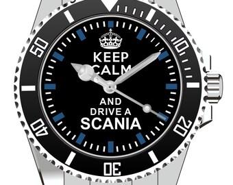 Keep calm and drive a Scania - KIESENBERG ® Uhr 1836