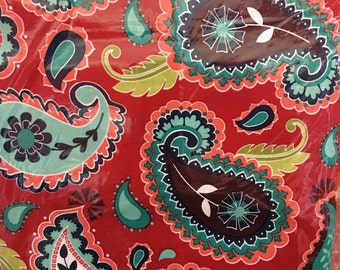 Paisley -  lavie boheme  -  the quilted fish - riley blake fabric - material - fabric - sewing - supply notion - bty - 1 yard