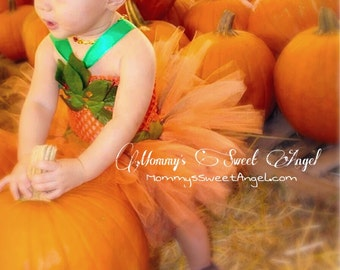Little miss pumpkin tutu. Pumpkin tutu. Fall tutu