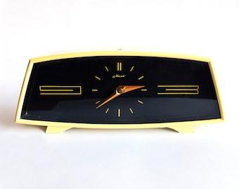"""Vintage russian clock """"Mayak"""" 11 jewels. Soviet Table clock. Vintage table clock. Vintage clock. USSR clock. Clock. soviet clock"""