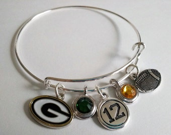 Green Bay Packers Charm Bracelet