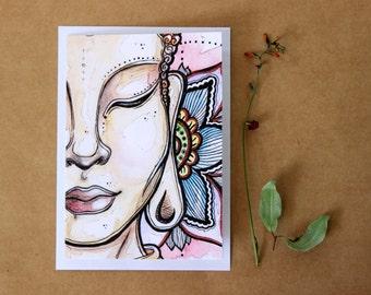 Buddha gift card- Print