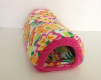 Small guinea pig hidey hut with potty pad