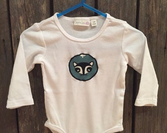 Animal Appliqued onesie