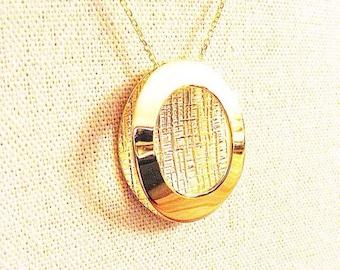 "Necklace ""Oval"""