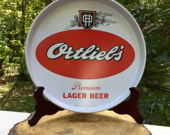 Vintage Ortleibs Beer Tray, very clean!