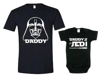 Star Wars Shirt. Darth Vader Shirt. Star Wars, Father Son Shirt Sets