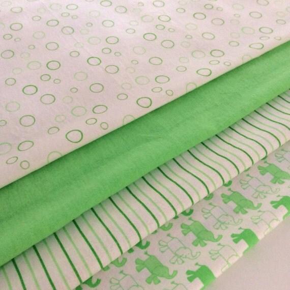 Lime/Apple Green Baby Wrap, Blanket, Swaddle 100 cm x 120 cm, Bubbles Pattern,Soft 100% Cotton