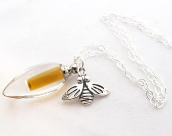 Honey Vial Necklace