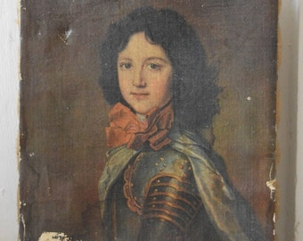 Vintage Print of a French Prince