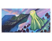 Haunted Sheet afraid of Ghost