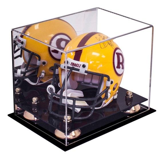 Mini Football Helmet Display Case // Handmade Acrylic with