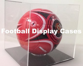 Football Acrylic Display  Cases Size 5    Free Shipping !!!