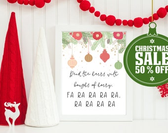 50% OFF - A Christmas Story Quote- INSTANT DOWNLOAD - Printable 8x10 & 5x7