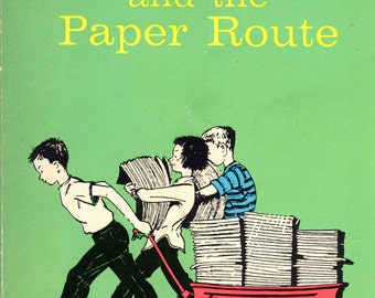 Henry and the Paper Route by Beverly Cleary, 5th Print, 1968, Scholastic Books