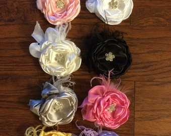 Layered Flower Clip