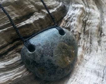 Beach Pebble Neckpiece
