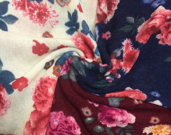 Garden of Roses Hacci Knit