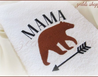 Mama Bear  - Mom Bear Embroidery  - Gifts For  Mom - Mothers Day  - Mama  - Instant Download