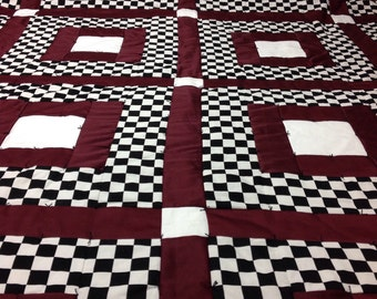Checkmate... Its Your Move Now Queen Quilt