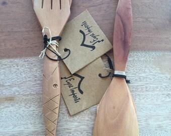 Mini fork & spoon sets