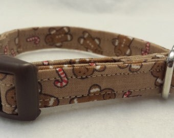 Ready to ship, Christmas collar, Holiday collar, Buckle collar, dog collar