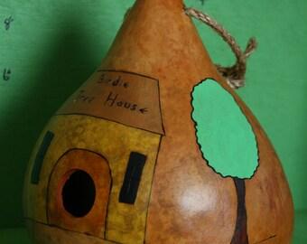 Birdie Tree House Gourd