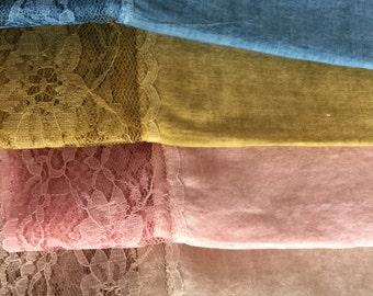 Cotton Lace Shawl
