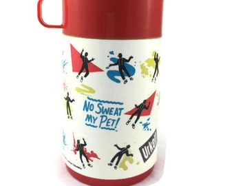 Family Matters Steve Urkel Thermos copyright 1991 Lorimar Television