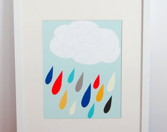 Rainy Days Archival Print