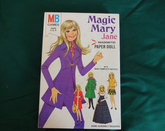 Magic Mary Jane magnetic paper doll