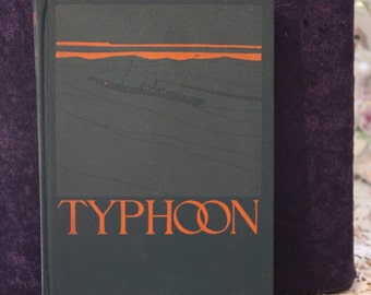 FREE SHIPPING~~~~Antique~~~ Typhoon Hardcover Book by Joseph Conrad~~1902 G.P.Putnam's~~~ The Knickerbocker Press New York