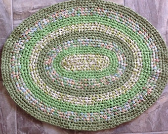 """Rag Rug - """"How Green Is My Valley"""""""