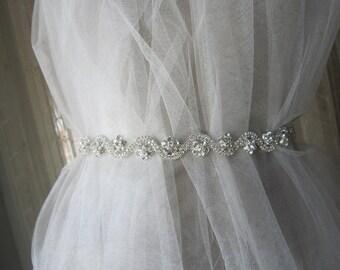 Rhinestones Wedding Sash Belt, wedding belt, wedding accessories