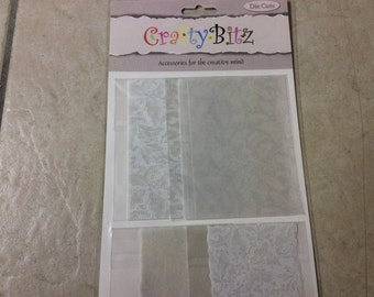 Crafty Bitz pk DC130 ,papers,translucent etc Card toppers,craft ,