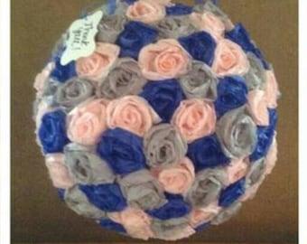 Wedding/Anniversary Floral Guest Book/Keepsake Pinatas Made to Order