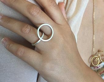 sterling silver ring, geometric, geometric ring, Minimalist Ring, Modern Ring, Minimalist Jewelry, Geometric Jewelry