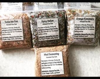 Seasoned Hawaiian Salts