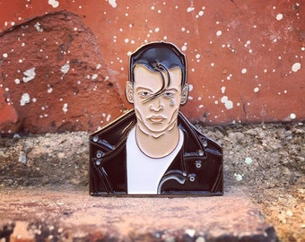 Cry Baby Walker - Johnny Depp Soft Enamel Pin